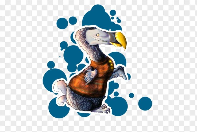 Dodo Flightless Bird Drawing Digital Art Paper PNG