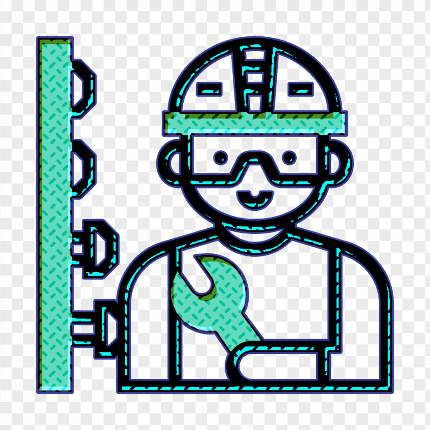 Construction Worker Icon Professions And Jobs Icon Mechanic Icon PNG