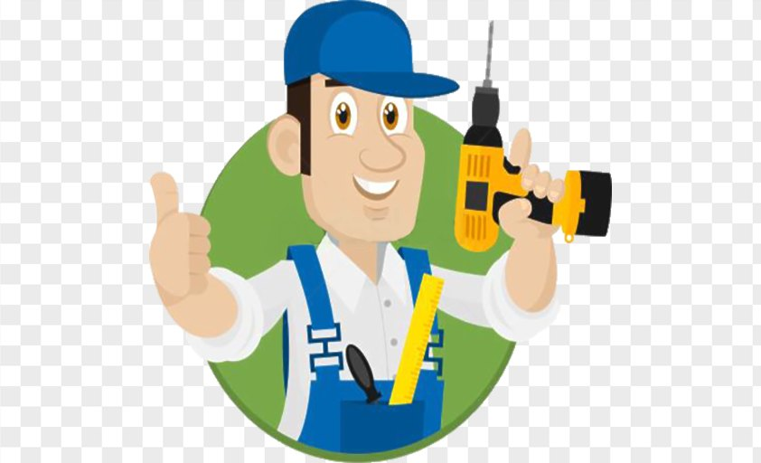 Construction Worker Cartoon Laborer PNG