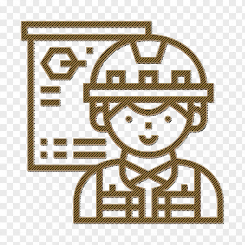 Construction Worker Icon Strategy Icon Architect Icon PNG