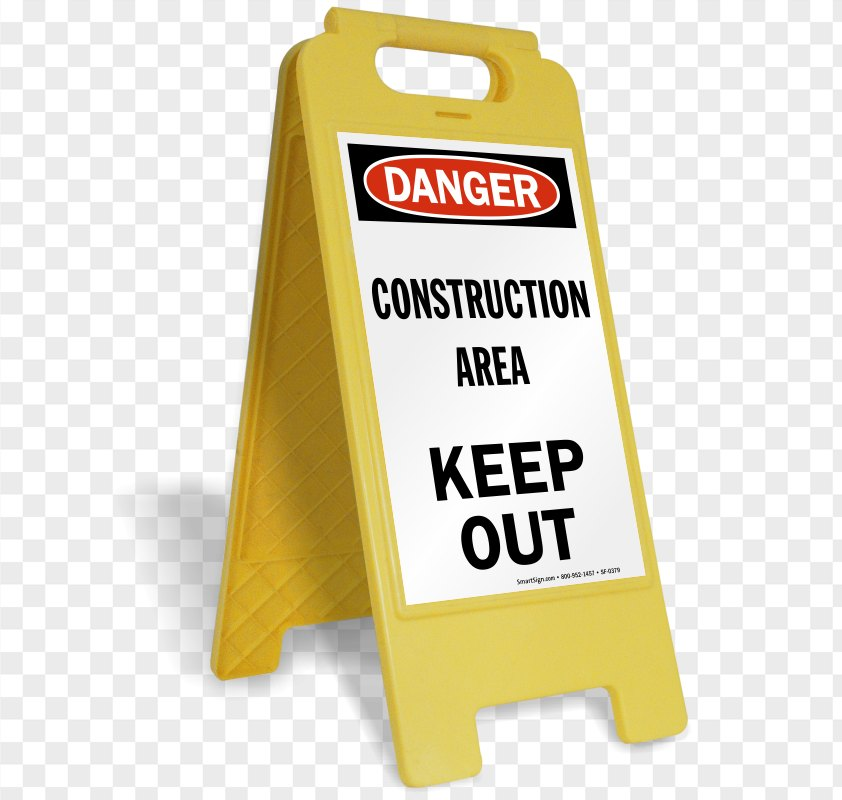 Construction Signs PNG