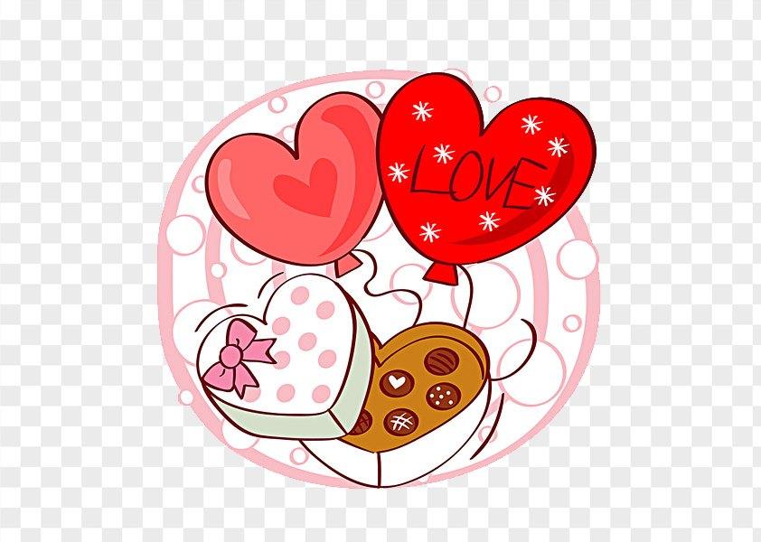 Valentine Chocolate Box PNG