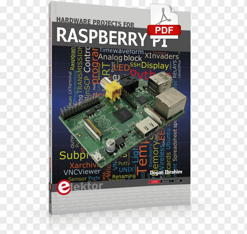 Raspberry Pi Projects PNG