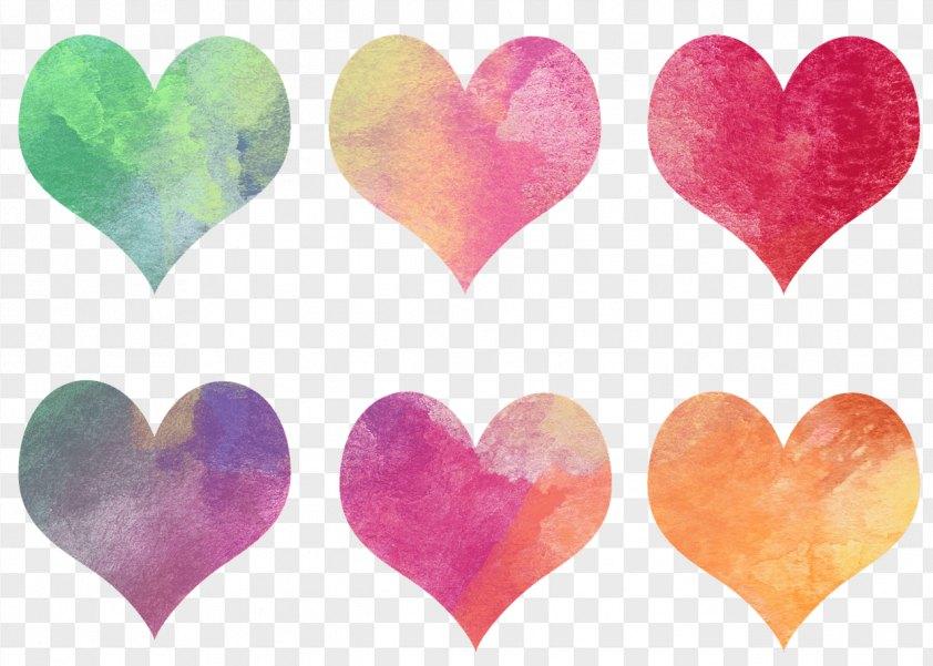 Watercolor Heart PNG