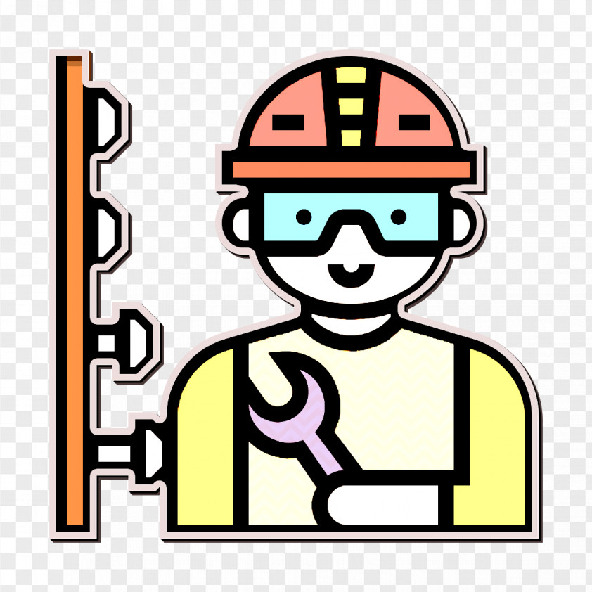 Construction Worker Icon Worker Icon Mechanic Icon PNG