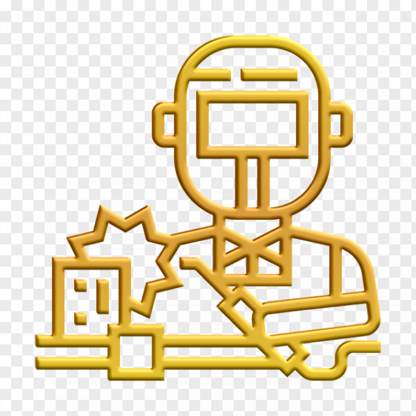 Construction Worker Icon Welder Icon PNG