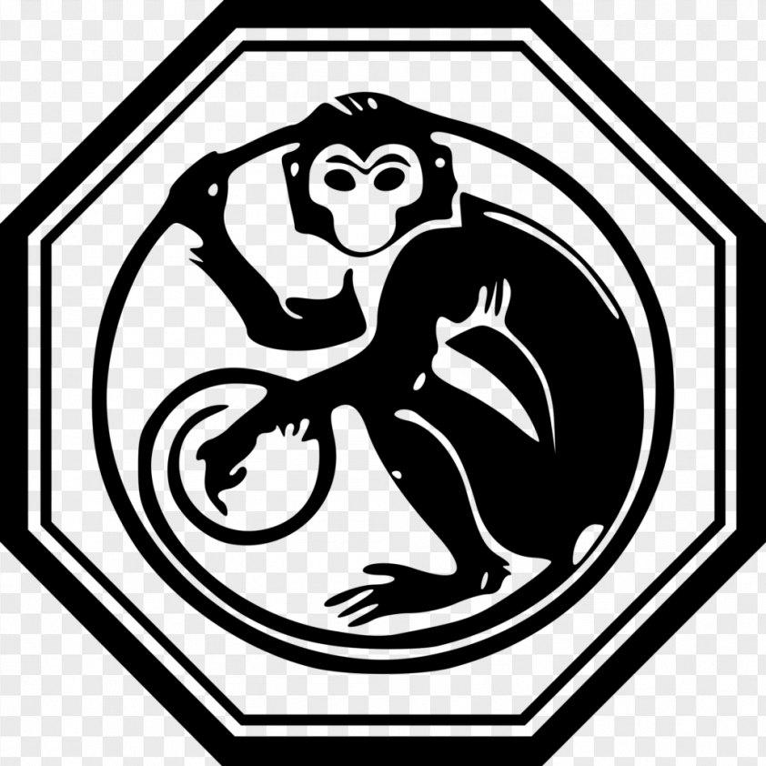 Monkey Chinese Zodiac Calendar New Year PNG