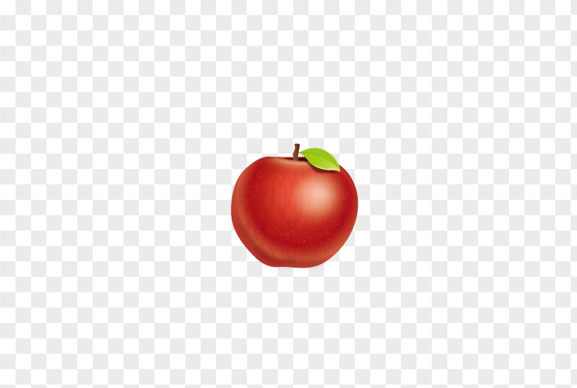 Red Delicious Apple PNG
