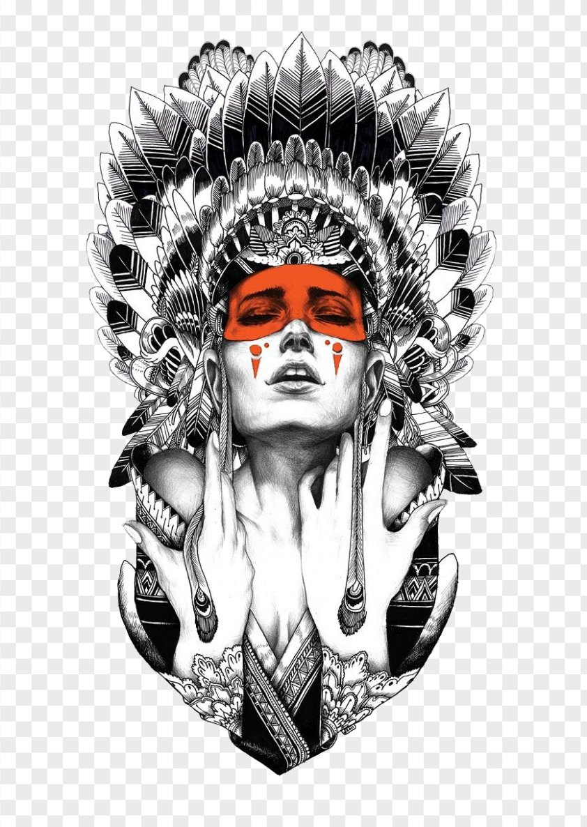Tattoo Artist Native Americans In The United States Indigenous Peoples Of Americas Black-and-gray PNG